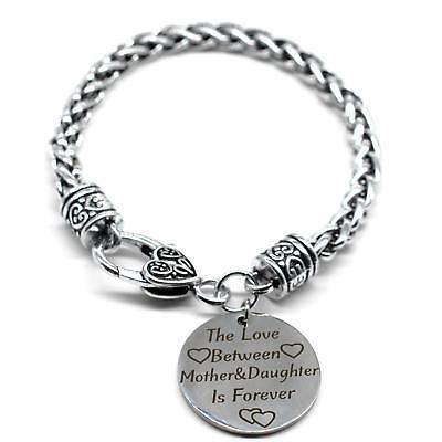 Braid Bracelet, The Love Between Mother & Daughter Is Forever,