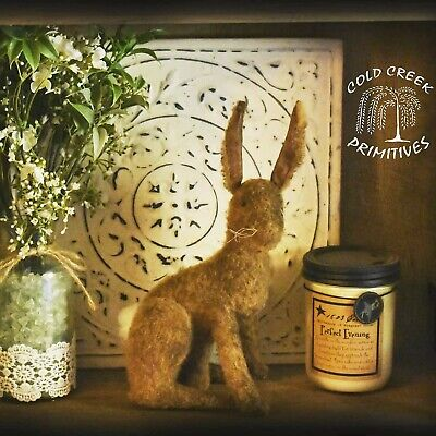 Handmade Primitive Bunny Doll