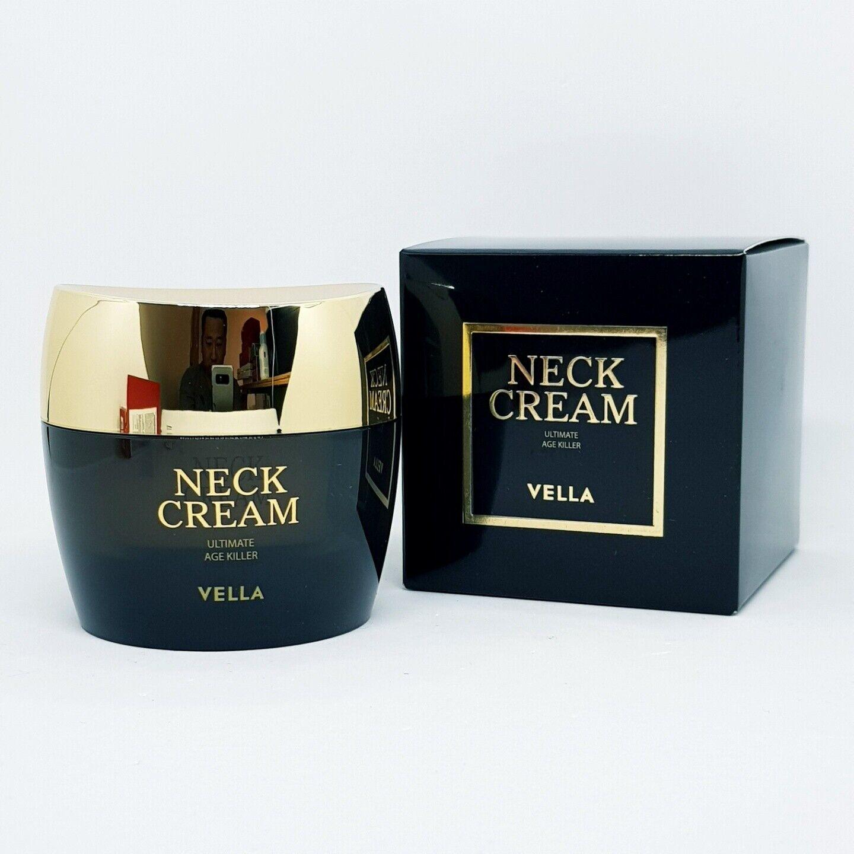 VELLA Ultimate AGE Killer Neck Cream 50ml Anti Wrinkle Moisturizing K-Beauty