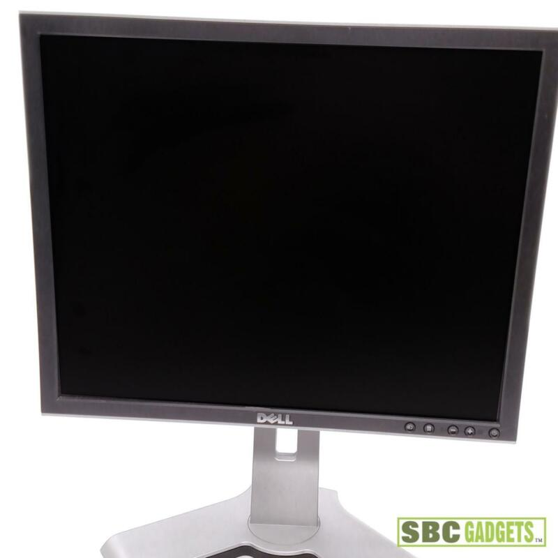 Dell 19 LCD Flat Screen Monitor, VGA / DVI - USB Ports - TESTED