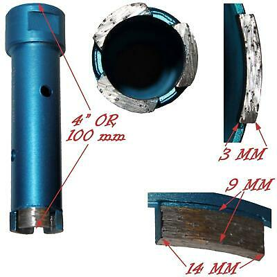 Stadea Diamond Hole Saw Set Core Drill Bit Granite Marble Stone Coring Drilling