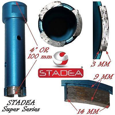 Stadea Diamond Core Bit Kit For Granite Marble Stone Masonry Coring Hole Saw