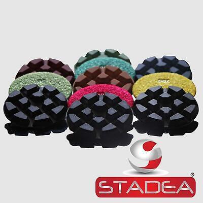 Stadea Floor Polishing Pads Diamond Polisher Set For Marble Concrete -5 Pads Set