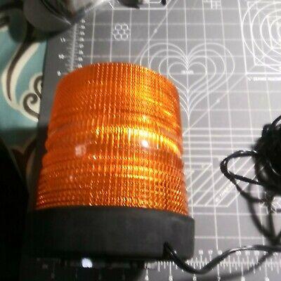 North American Signal Yellow Orange Dfs585hmx-a Magnetic Strobe Light