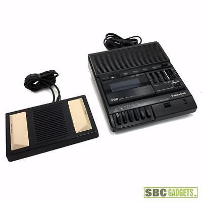 Panasonic Vsc Cassette Transcriber W Rp-2692 Foot Pedal Model Rr-830