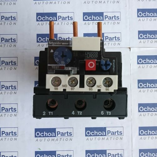 SCHNEIDER ELECTRIC LRD3361 THERMAL OVERLOAD RELAY 55-70A CLASS 10A