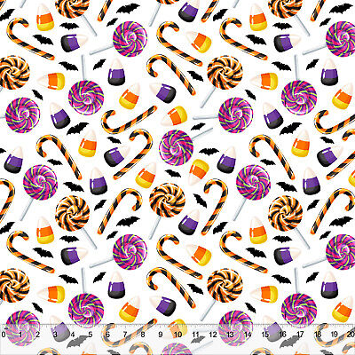 Halloween Sweet Tooth- Home Decor Fabric Polyester 62