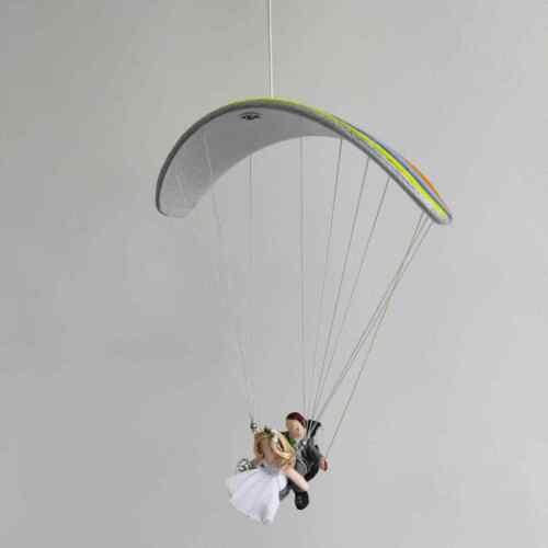 For order Paragliding tandem bride and groom  Paragliders wedding gift Model
