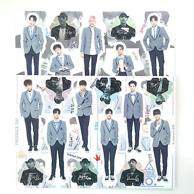 Wanna One All Member Standing Paper Doll Toy New Relaesed KPop Star Produce 101