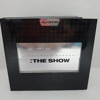 BLACKPINK 2021 [THE SHOW] LIVE CD 2CD+Photobook+stiker K-POP