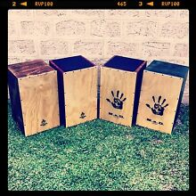 cajon drum hand made Fremantle Fremantle Area Preview