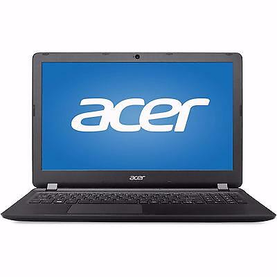 "New Acer 15.6"" HD Laptop i3-6100U Dual-Core 4GB DDR3L 1TB HDD DVD RW W10 Black"
