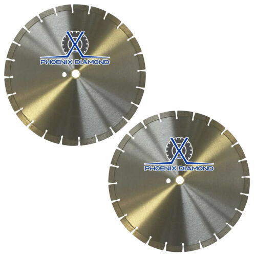 "2Pk 14"" General Purpose Segmented Diamond Saw Blade for Concrete & Masonry"