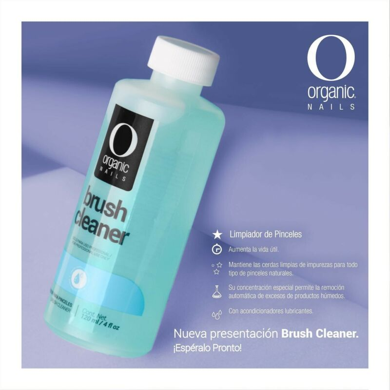 Brush Cleaner Organic nails Nails