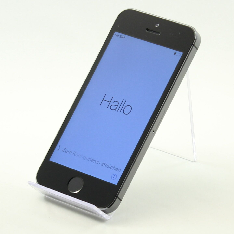 Apple iPhone 5s - 16GB - Spacegrau Smartphone - guter Zustand [Z2] #BX