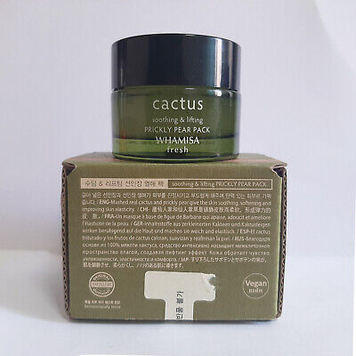 WHAMISA Fresh Cactus Soothing & Lifting Prickly Pear Pack 1.05oz /30g K-Beauty