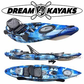 War Horse Motorised Kayak 360cm Motorized Canoe