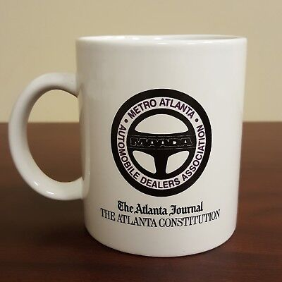 The Atlanta Journal Constitution Coffee Mug International Newspaper Carrier 1996
