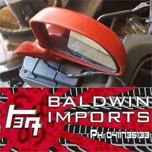 TOYOTA MR2 SW20 MODELS RED OSF EXTERIOR SIDE MIRROR Rathmines Lake Macquarie Area Preview