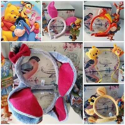 kids Winnie the pooh Eeyore Piglet Tigger tsum Disney Ears Headband character  (Disney Kid Kostüme)