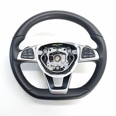 2017 17 Mercedes-Benz SLC300 R172 Flach-Boden Lenkung Rad Schalter Montage OEM