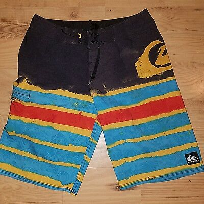 Quiksilver Men's Kelly Slater Surf Board Trunks Shorts Sz 29 Put up shorts