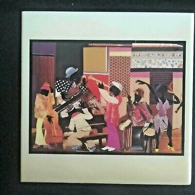 James Denmark Funky Spot African American Collage Artist Ceramic Wall Tile