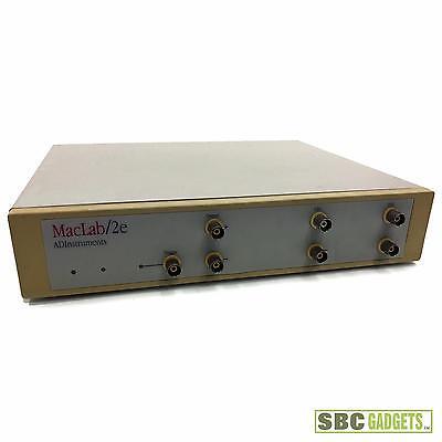 Ad Instruments E Series Powerlab Data Aquisition System Model Maclab2e