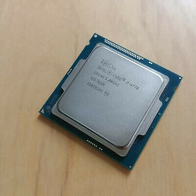 Intel Core i7-4770 3.4 GHz quad-core socket lga1150 4th generation CPU  for sale  Shipping to Nigeria