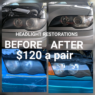 Affordable headlight restorations