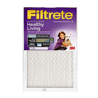 Filtrete Ultra Allergen Reduction Filter, 1250 MPR, 16x25x1,