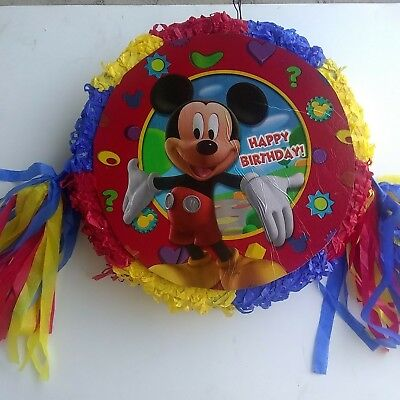 Mickey Mouse Pinata..Party Game Decoration (Mickey Pinata)