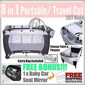 BRAND NEW 8 in 1 BABY PORTABLE TRAVEL COT PLUS FREE POSTAGE!!! Mount Kuring-gai Hornsby Area Preview