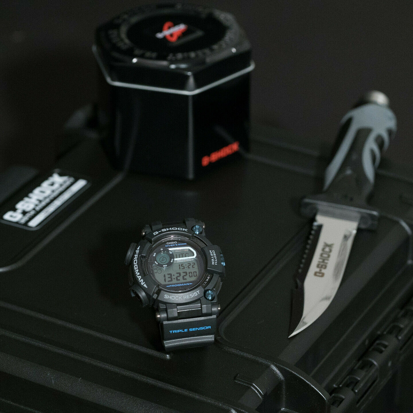 Casio G SHOCK GWF D1000B 1LTD Frogman 35th Anniversary LimitedEdition eBay