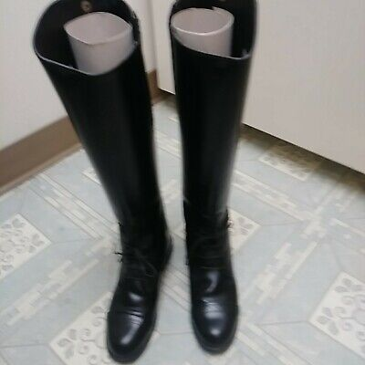 17a05dae2189 Devon Aire 957 Ladies Black Leather Camden English Field Boot - Size 7.5 S