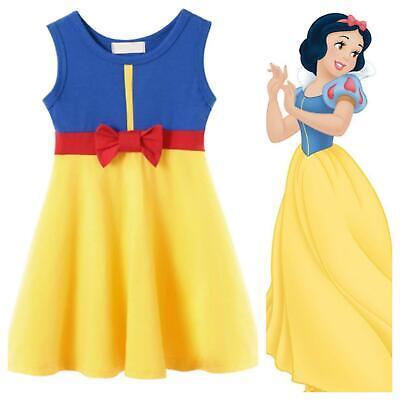 GIRLS Disney snow white inspired holiday princess dress Costume age 2 3 4 5 6 7 ()