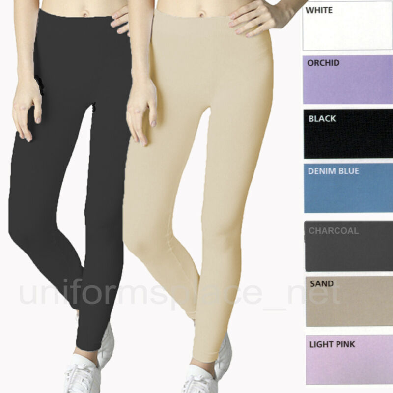 Women Classic Seamless Stretch Leggings (pack Of 2)