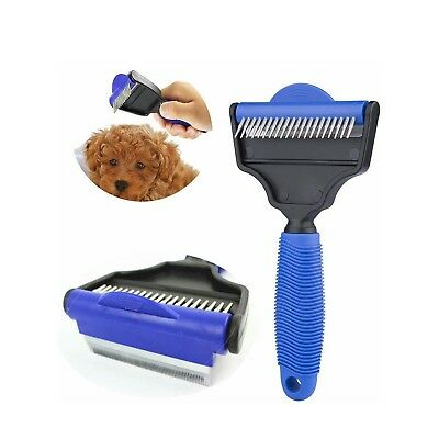 Tiger Eyes Multinational Pet Comb & Grooming Brush, Self Cleaning Dogs, Cats,