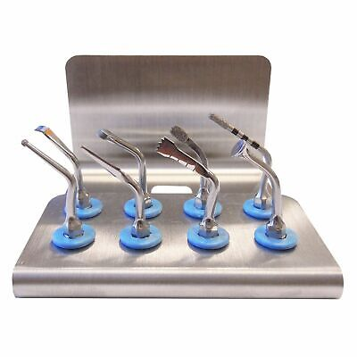 Implant Dentistry - 8 Pc. Basic Tip Set Holder For Piezoart By Dowell