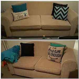 2 piece suite/lounge/sofas URGENT SALE!  MAKE AN OFFER! Cheltenham Charles Sturt Area Preview