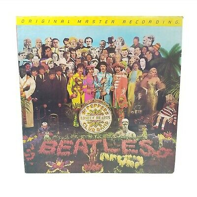The Beatles Lp Sgt Peppers. Original Master Recording Old Press