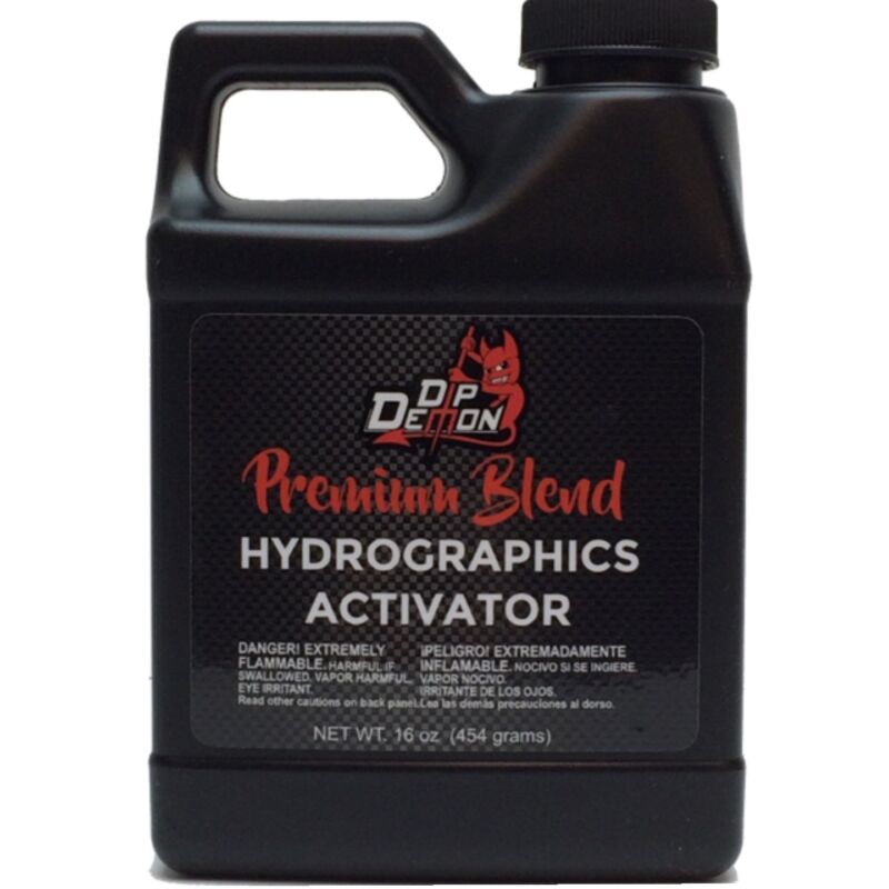 Hydrographic activator Dip Demon® Premium Blend Hydro water transfer 16oz Pint