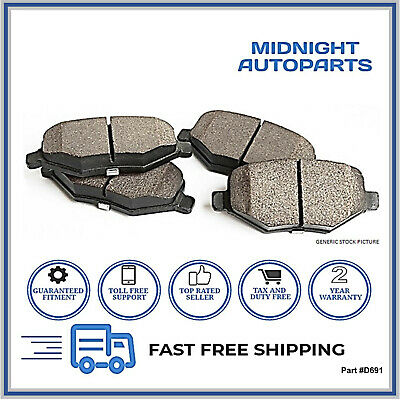 D691. FRONT Brake Pad For Infiniti QX4 97-98 Nissan Pathfinder 96-01. CERAMIC