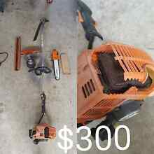 Stihl hedger whipper snipper and chain saw bar Boronia Heights Logan Area Preview