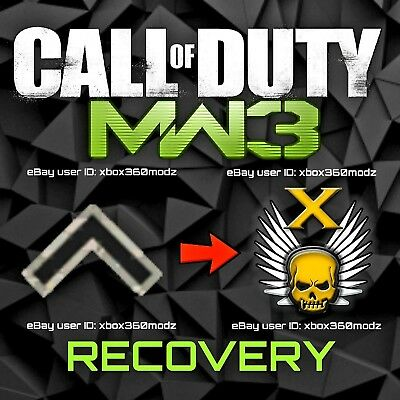 Call of Duty Modern Warfare 3 MW3 Recovery | Account Mod - Xbox 360 & Xbox One, used for sale  Calgary