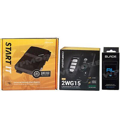 Compustar RFX 2WG15 FM LED Remote DR X1 LTE + FT 7200S Start IT + Blade AL  2WR3