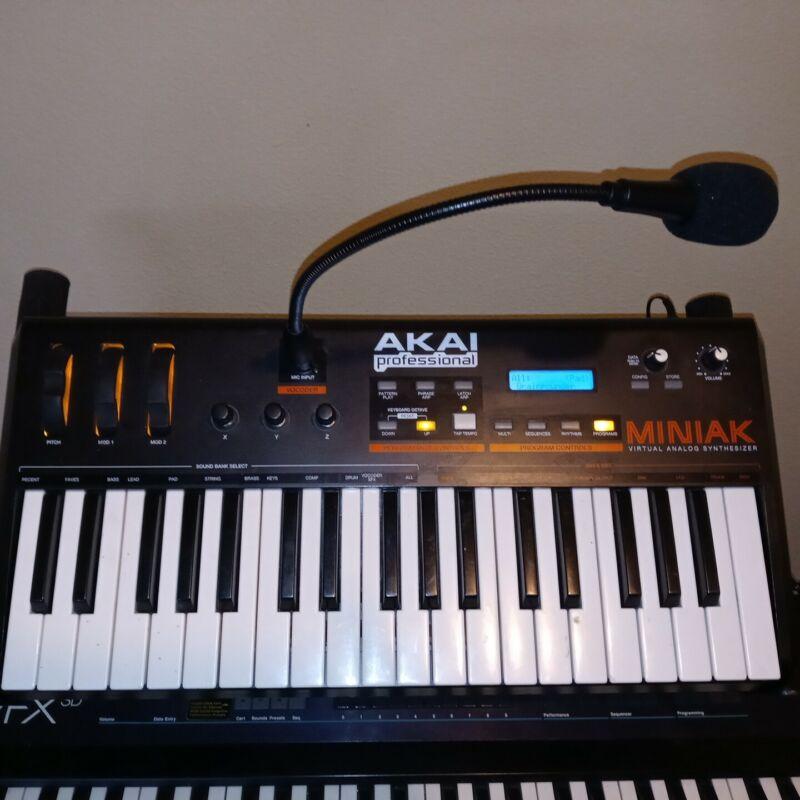 Akai Miniak Virtual Analog Synthesizer
