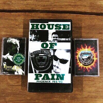 [Rare] HOUSE OF PAIN Cassette Tape & LIVE Bootleg VHS/ Beastie Boys eminem NYHC