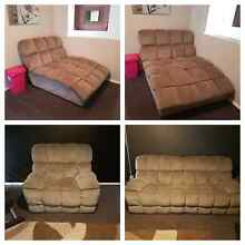 Super comfy hustler lounge suite 3 recliners and chaise Rutherford Maitland Area Preview
