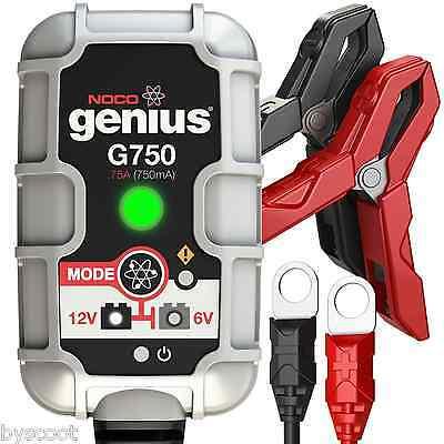 Battery charger NOCO Genius G750 75A 6V 12V maintenance auto moto car